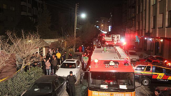 آتشسوزی مرگبار در سعادتآباد