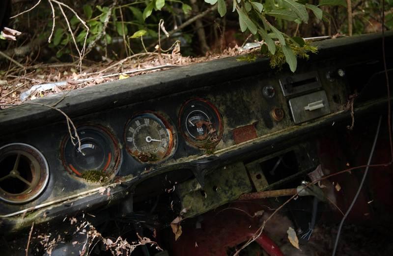 قبرستان خودروهای قدیمی در سوئد