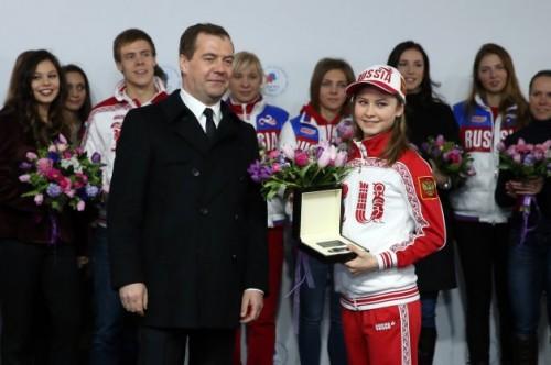 هدیه ویژه روس ها به مدال آوران المپیکی