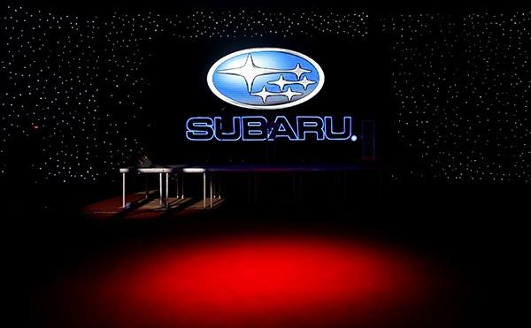 رونمایی از محصولات سوبارو