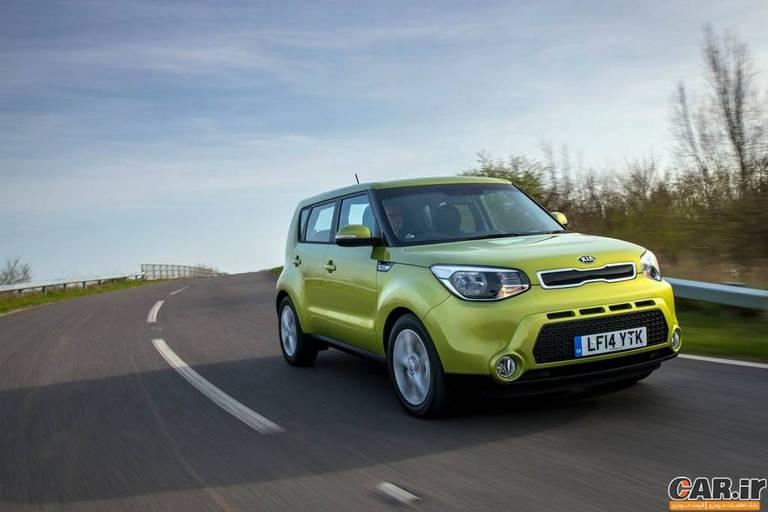 فهرست خودروهای برگزیده برای سال 2015