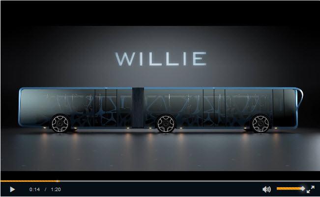 اتوبوس شهری جدید یا بیلبورد تبلیغاتی متحرک ؟