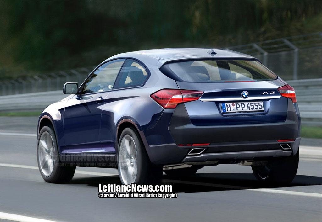 BMW X2 در راه است IS 250