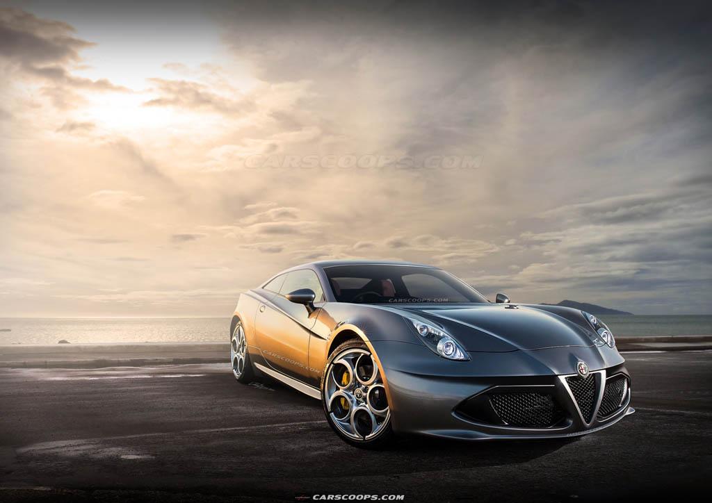 آلفا رومئو GTV کوپه: خودروی آینده